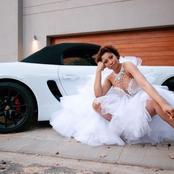 Things keep getting better for Black coffee's ex wife Enhle, look at her beautiful car