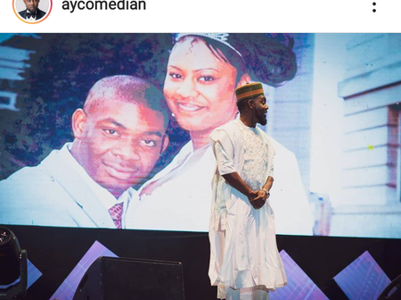 Here's what Ay the comedian had to say about Don Jazzy's past marriage.
