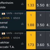 Arsenal, Man U, Roma, Napoli and Lille Are Today's Mega Predictions with Odds