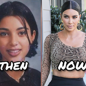 Throwback Pictures Of Kim Kardashian That Shows How Gorgeous She Was Back Then (Photos)