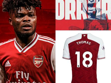Official: Arsenal Sign Thomas Partey As Man United Completes Seven Summer Signings