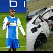 Tears as top African football legend dies in fatal car accident (Photos)