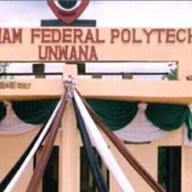 As Akanu Ibiam Federal Polytechnic Students gets ready to vote.