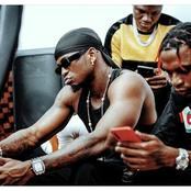 Diamond Platnumz in His Studio 'Cooking Music' With Top Producer Skizzy