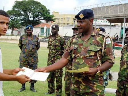Military Police Arrests 55 People Who Presented Fake KDF Recruitment Letters