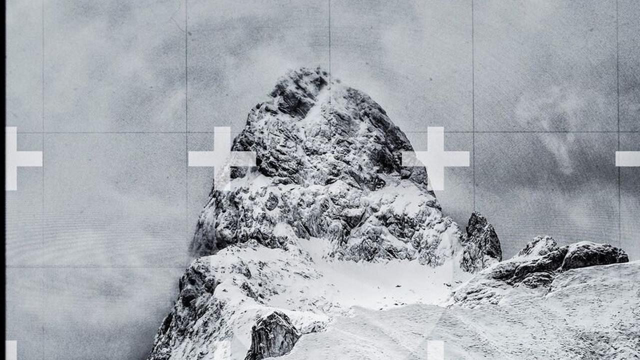 Der Berg im Fahndungskreuz: Fotokunst aus Oberstdorf