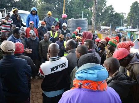 High Tension in Olenguruone as Car Hijackers Are Arrested