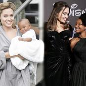 Meet the little girl from Ethiopia adopted by Angelina Jolie at 6 months vs Now as a Teenager