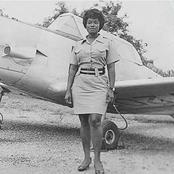 Meet the first female pilot in Ghana and the whole of Africa.