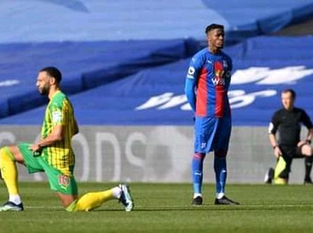 Will This Stop Racism? Wilfred Zaha Finally Explains Why He Refused To Take A Knee Before Kick-off