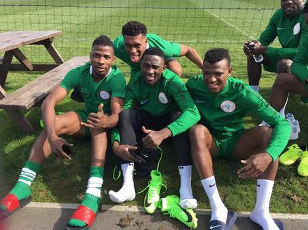 Afcon Qualifiers: Iheanacho excels in Super Eagles training