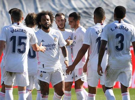 Six Players Missing As Real Madrid Release 19-man Squad To Face Alaves