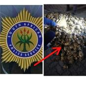 A Man Arrested After He Was Found With This, Worth R100 000