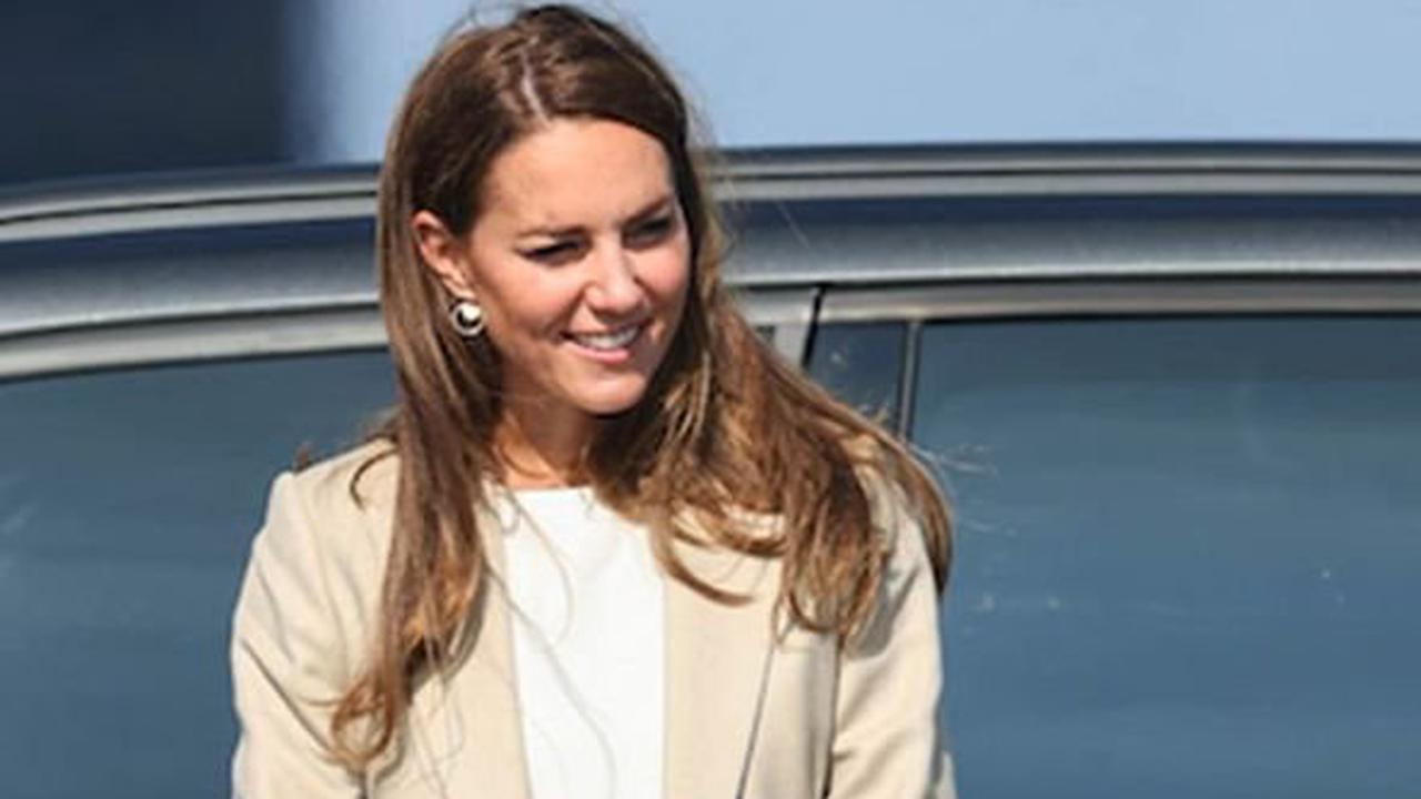 Kate Middleton returns to royal duties as Duchess meets troops involved in Afghan rescue