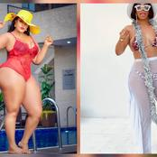 See Bikini photos of Nengi, Mercy Eke, Ini Edo, Toke Makinwa, Omoborty, and Tiwa Savage.