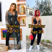 43 Years Old Iyabo Ojo Versus Her 20 Years Old Daughter, Who Slays Better?