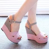 Ankle Strap Heels and Sandals for Ladies
