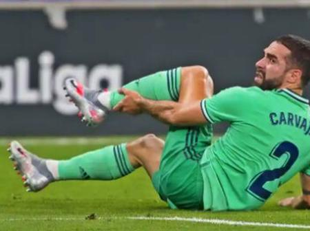 Real Madrid News - Dani Carvajal ruled out for two months with injury