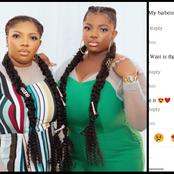 Fans Get Confused As Ex BBNaija Housemate, Dorathy Bachor Shares A Photo Of Her Look-alike Sister