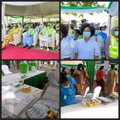 Nigerians Blast FG For Organizing Ceremonial Event Just To Administer Covid-19 Vaccine To Citizens