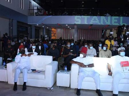 Air Peace Boss, Coscharis, Maduka, Other Billionaires Present As Ubah Speaks At Stanel Event (Photo)