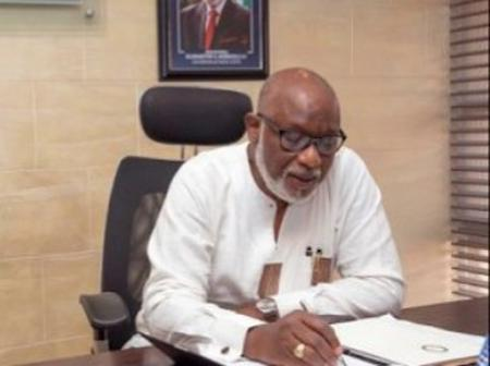 Governor Akeredolu Approves Year 2021 Promotion Exercise For Public Servants In Ondo State