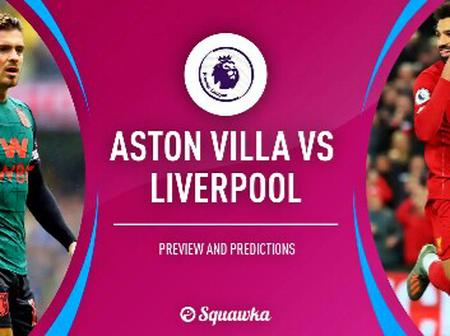 Incredible Premier League Record Liverpool could set if they beat Aston Villa on Sunday