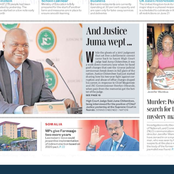 Newspaper Review: A Judge Weeps For Justice