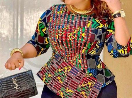 Ladies, See Fabulous And Stunning Styles You Can Rock With African Print Blouses And Tops