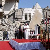 Pope Francis Celebrates Mass In Mosul, A Place Where Isil Terrorists Killed Several Christians