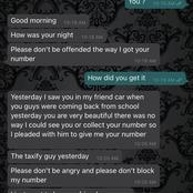WhatsApp Message Shows How Man Got His Friend In Trouble After Collecting A lady's Number