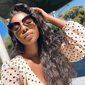 Is This a Sign That Pearl Modiadie Is Engaged To Be Married?