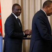 Dp Ruto And Uhuru Hold Close Door Meeting at State House with Top Government Officials