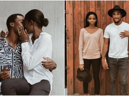 Lovebirds Actor Akah Nnani and his Wife Giving Enviable Relationship Goals, See Lovely Photos.