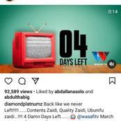 Finally, Diamond Platnumz Announces The Return Of Wasafi Tv After Two Months Ban