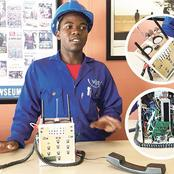 He Invented A Phone That Doesn't Require A SIM Card Or Airtime, This Is What Happened To Him