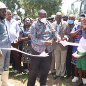 Vihiga MP Commissions This Mega 5 Million Project in Mahanga