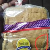 Lady Complains After Finding This In A Bread