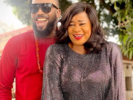 Fans React As Uju Okoli Shares Stunning Pictures With Handsome Actor, Frederick Leonard