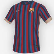 Leaked: Barcelona Home Kit For 2022/23 Season