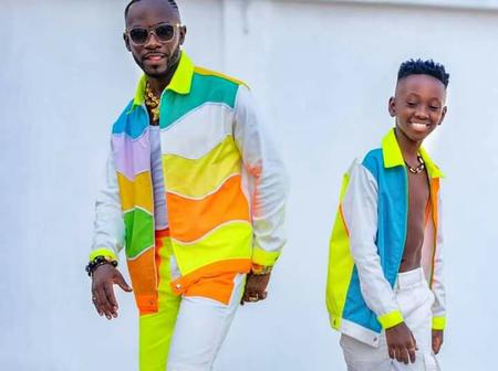 """Why allowing this person to be rude to you"" - Okyeame Kwame's son asked his father"