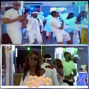 Take a look at how your favorite ex housemates rock the all white party (video)
