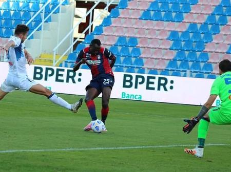 Super Eagles star nets goal number 3 of the season in Italian serie A