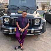 Osita Ihem Show Off His Mercedes Benz AMG Brabus