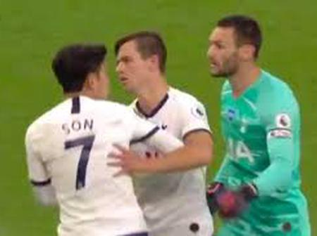 Revealed: Why Spurs goalkeeper was furious with Heung Min Son at half time!