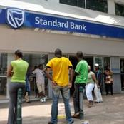 After customers Threaten standard bank for duplicate deduction.this was announced by standard bank