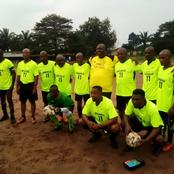 Eastern Ngwa Country Sports Club Play Novelty Match In Honour of Late Abia Commissioner