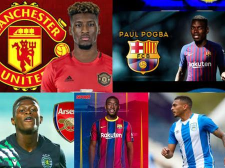 UPDATE: Kingsley Coman To Man UTD, Barca Set To Secure Double Signings, Mendes To Arsenal & Others
