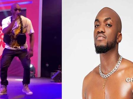 Show me one artist who sings and dances effortlessly like I do? - Mr Drew to Ghanaians