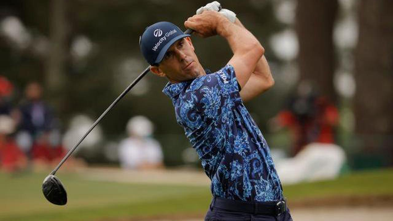 Horschel has embarrassing fall, failing to master balance